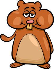 hamster character cartoon illustration