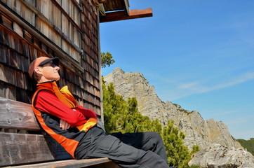 Wandern, Erholung, Berge, Hütte