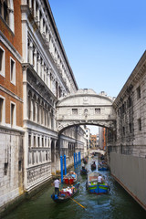 bridge of sighs (ponte dei sospiri). Venice. Italy