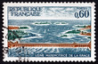 Postage stamp France 1966 Rance Power Station - 63624834