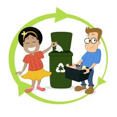 Recycle Children