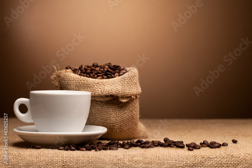 coffe and beans