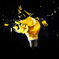 bulb explosion