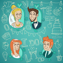 set wedding