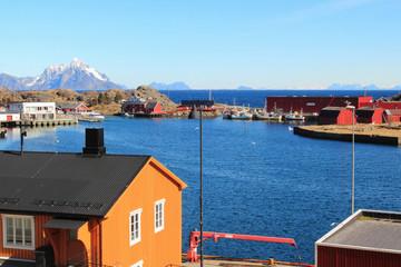 Stamsund's bay