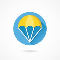 Vector Parachute Icon