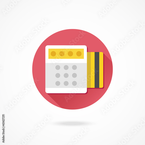 Vector Pay by Credit Card Icon