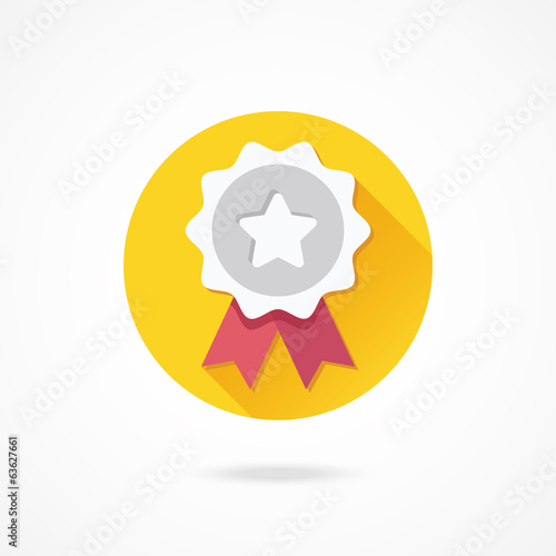 Vector Silver Award Icon