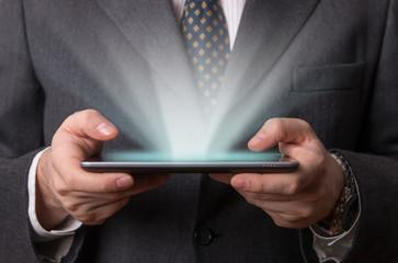 Futuristic tablet