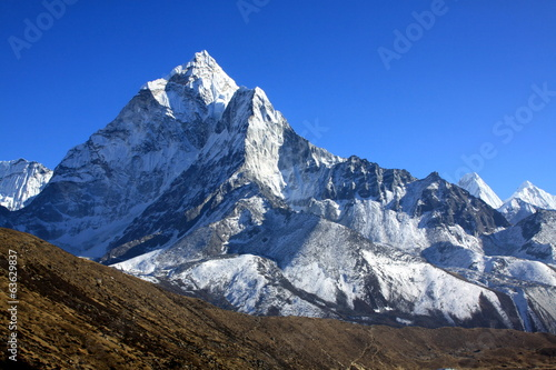Fotobehang Nepal Ama Dablam