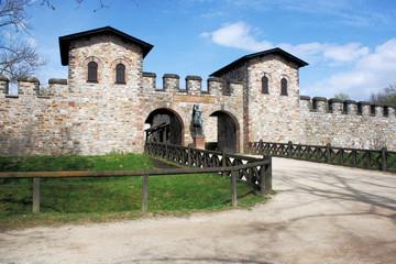 Römerkastell Saalburg - Südseite - Haupttor - Bild 5