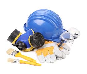 Working equipment for builders.