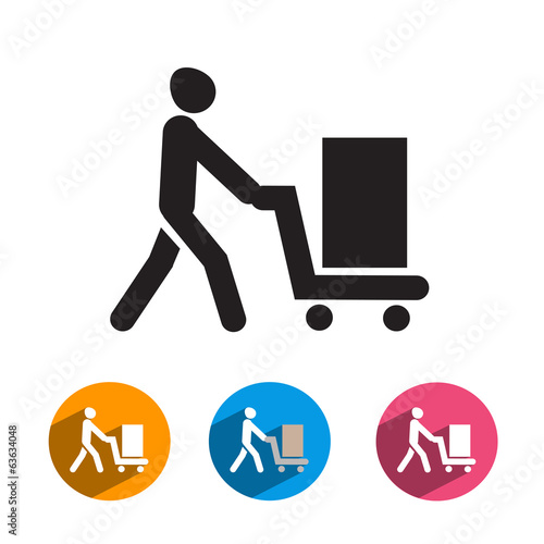 Purchase icon. Vector format