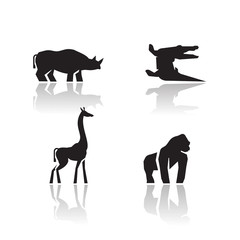 Animals icons. Vector format