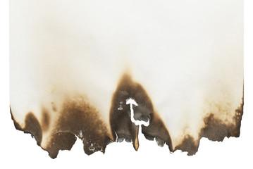 Blank Burnt Paper