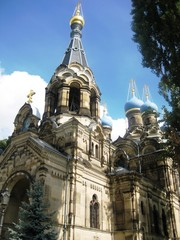 russian church in dresden