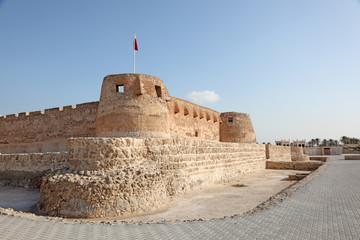 Historic Arad Fort in Muharraq. Bahrain, Middle East