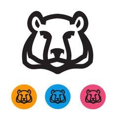 Bear. Vector format