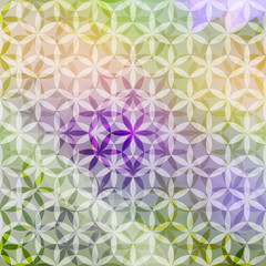 Green and lavender pastel defocused background. Eps10