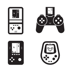 Game icons. Vector format