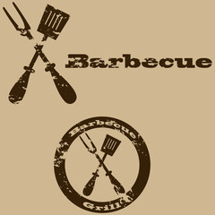 Vintage barbecue