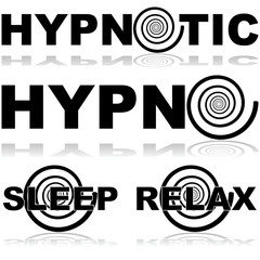 Hypnotic icons