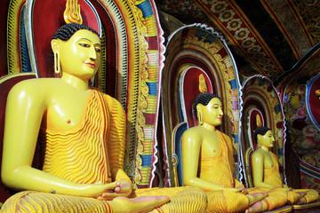 Seated Buddhas