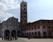 canvas print picture - Historisches Lucca