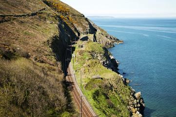 Cliffwalking Between Bray and Greystone, Ireland