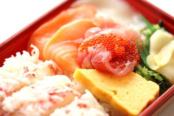 美味しい海鮮弁当 イメージ