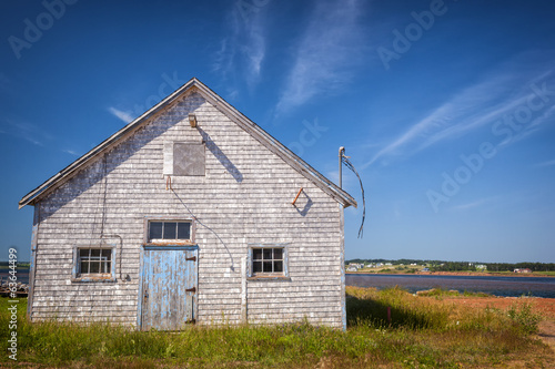 Old building in North Rustico