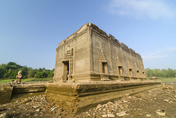 Ancient temple Muang Badan (Underworld) in Sangkhlaburi‎