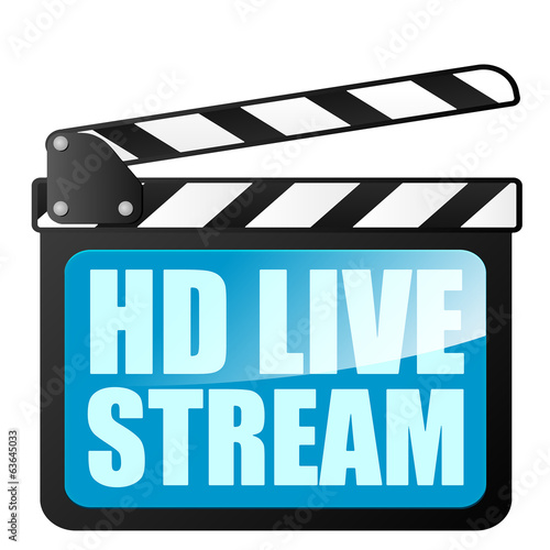 clapper board HD LiveStream