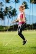 Women Exercising Jumping Rope