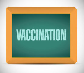 vaccination message illustration design