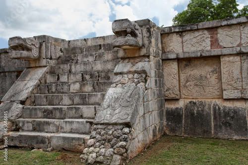 Platform of Eagles and Jaguars, Chichen Itza