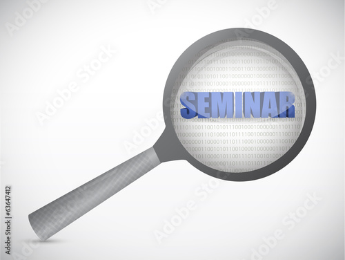 seminar under review illustration design