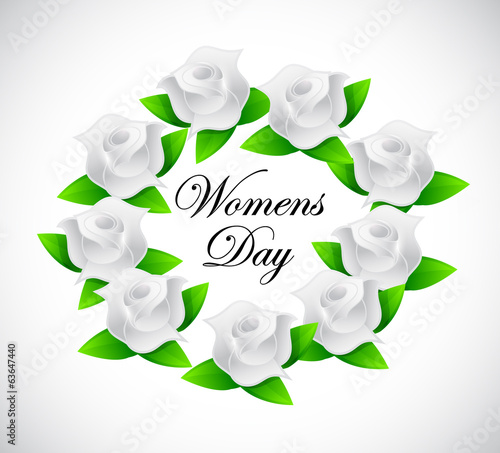 womens day banner illustration design