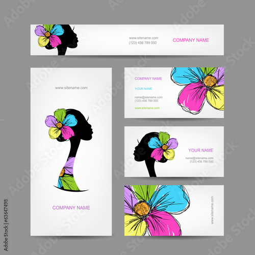 Business cards design,