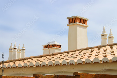 Algarve chimneys
