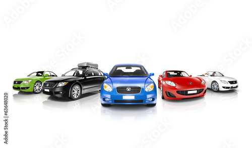 3D Car Collection