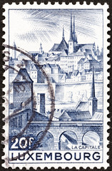 Luxembourg city (Luxembourg 1948)