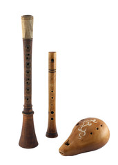 Славянские духовые музыкальные инструменты