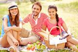 Having picnic