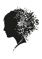 Mädchen Profil