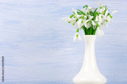 Snowdrops bouquet