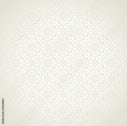 Damask vector seamless wallpaper