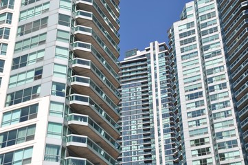 High rise residential buildings