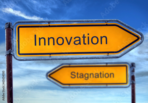 Strassenschild 1 - Innovation