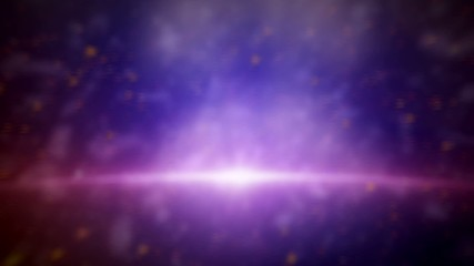 Galaxy Animated with blue background